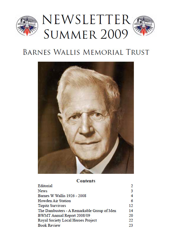 Barnes Wallis Newsletter 2009
