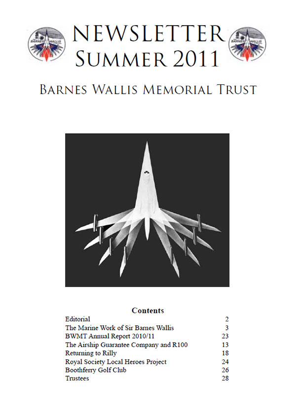 Barnes Wallis Newsletter 2011