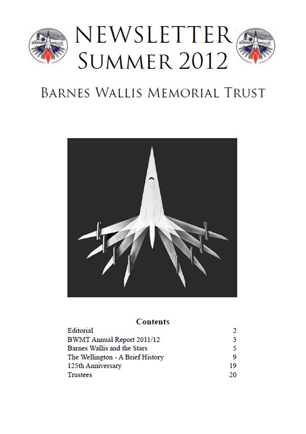 Barnes Wallis Newsletter 2012