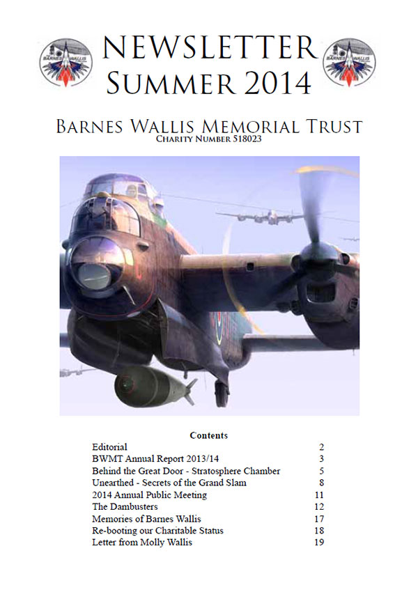 Barnes Wallis Newsletter 2014