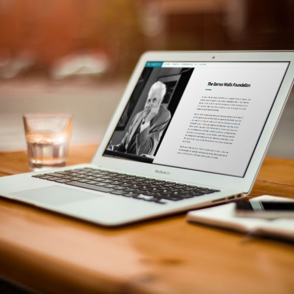 Barnes Wallis Foundation Launch New Website