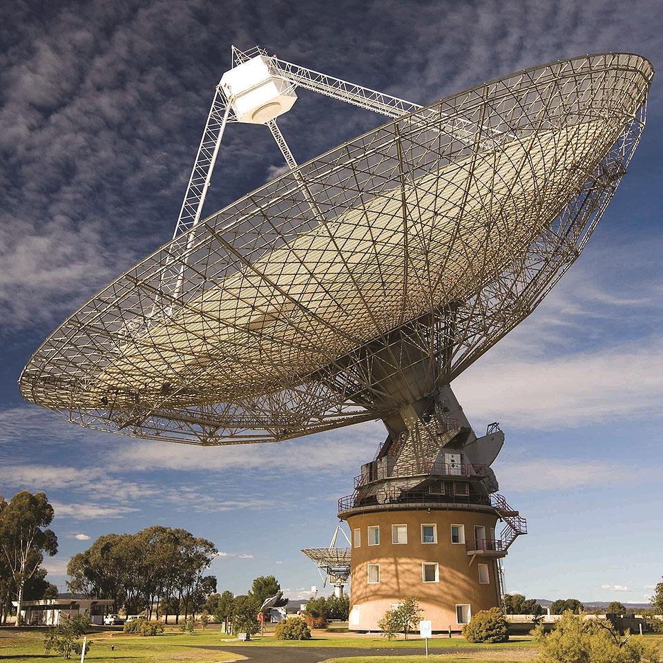 Parkes Radio Telescope, Australia