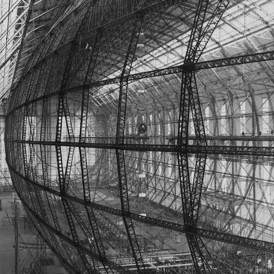 Barnes Wallis' Airship Design