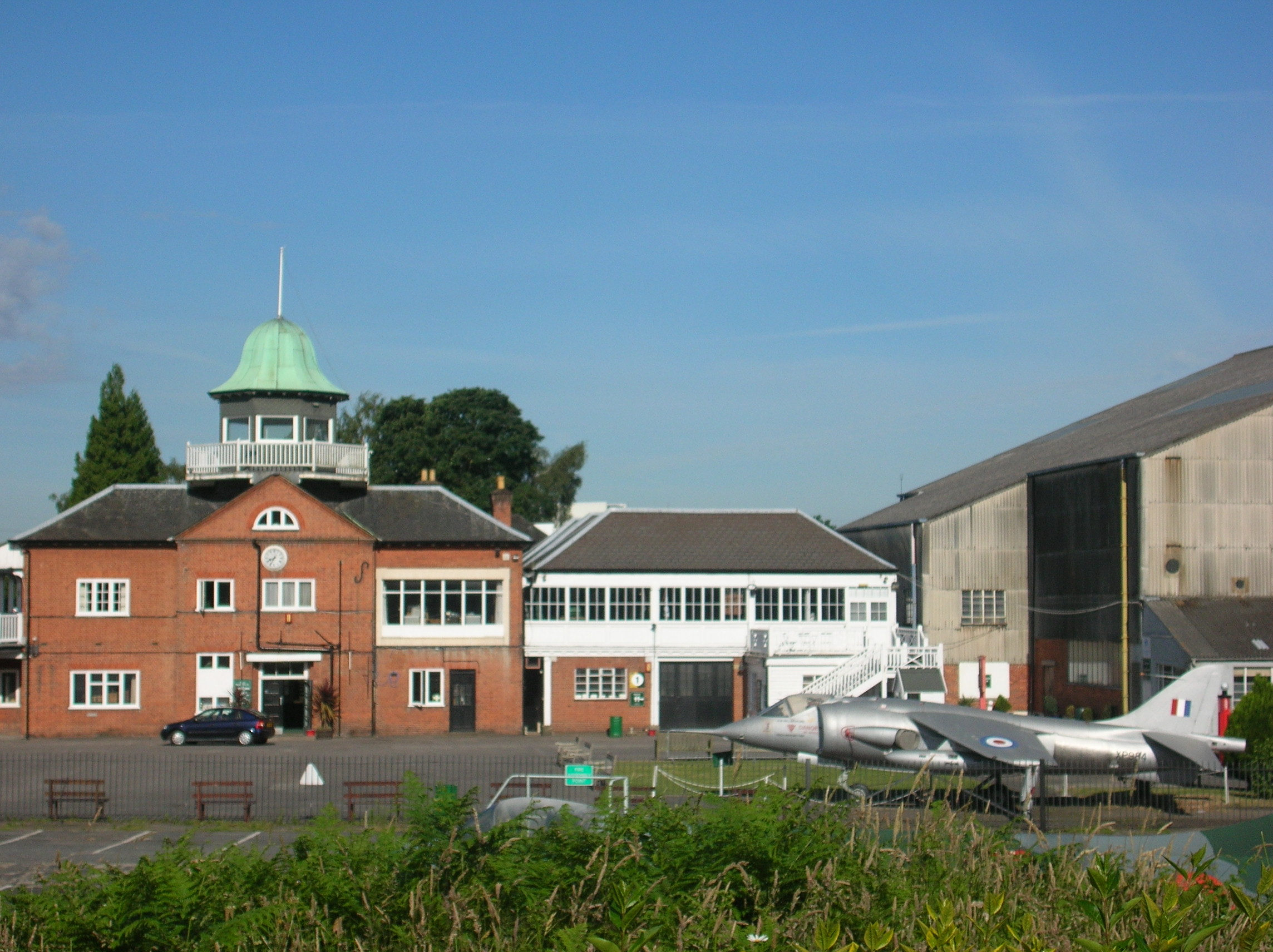Brooklands Museum - general view